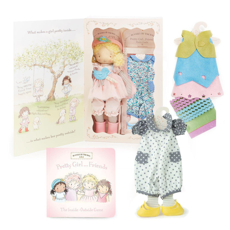 The Elsie Girl Friend Doll and Book Set-Gift Set-SKU: 101002 - Bunnies By The Bay