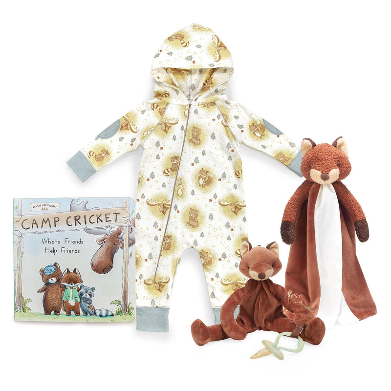 Little Camper Foxy Snuggle and Play Gift Set-Gift Set-Bunnies By The Bay