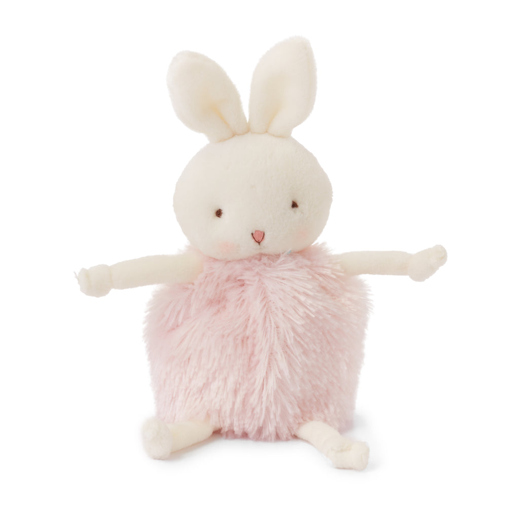 Roly Poly Blossom- Pink Bunny - Limited Edition-Stuffed Animal-SKU: 101022 - Bunnies By The Bay