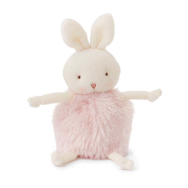 Bunny Plush Stuffed Animal - Roly Poly Blossom- Pink Bunny - Limited Edition-Stuffed Animal-SKU: 101022 - Bunnies By The Bay