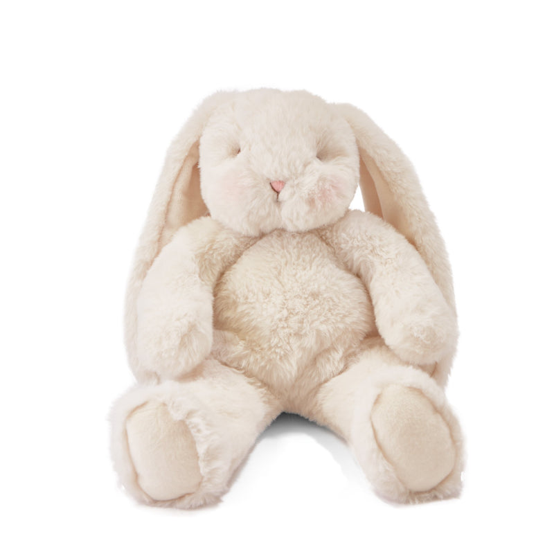 "Bunny Plush Stuffed Animal - Floppy Nibble - 12"" Cream Bunny-Stuffed Animal-SKU: 101047 - Bunnies By The Bay"