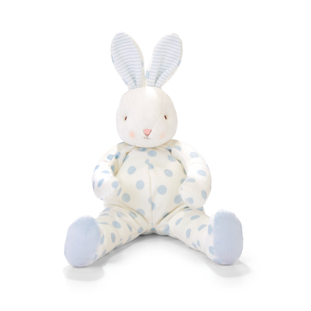 Bunnies By The Bay Big Bud Polka Dot Stuffed Bunny Rabbit