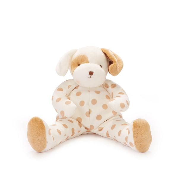 Bunnies By The Bay Big Buddy Skipit the Pup Polka Dot Stuffed Animal