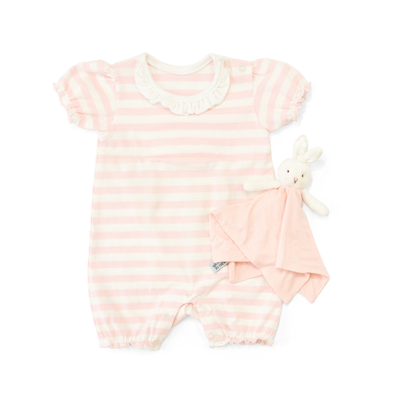 Blossom Romper with Binkie-Apparel-SKU: 101054 - Bunnies By The Bay