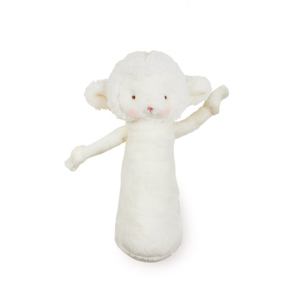 Friendly Chime White Lamb