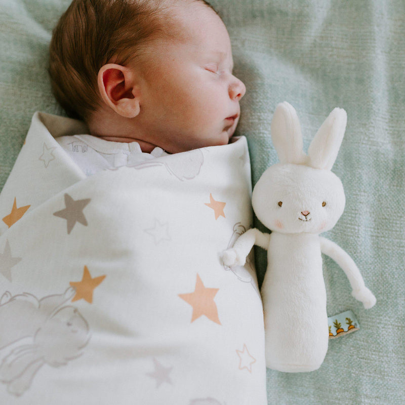 Bloom Receiving Blanket-Blanket-SKU: 104326 - Bunnies By The Bay