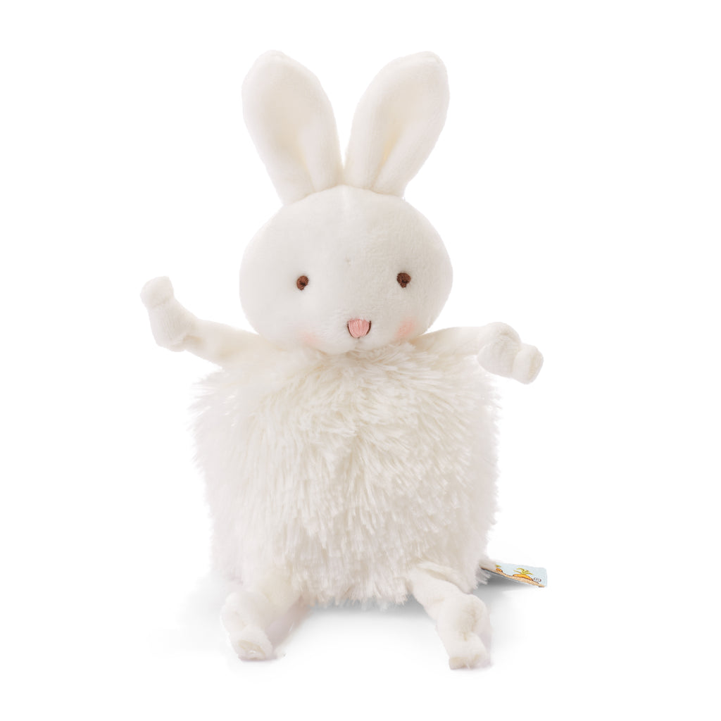 Roly Poly Bun Bun White Bunny - Limited Edition-Stuffed Animal-SKU: 101065 - Bunnies By The Bay