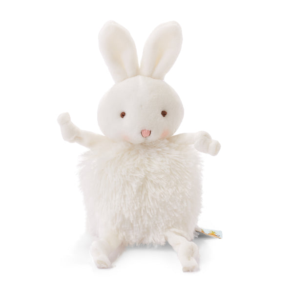 Bunny Plush Stuffed Animal - Roly Poly Bun Bun White Bunny - Limited Edition-Stuffed Animal-SKU: 101065 - Bunnies By The Bay