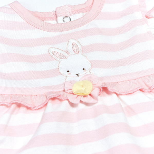 Blossom Striped Dress-Apparel-SKU: - Bunnies By The Bay