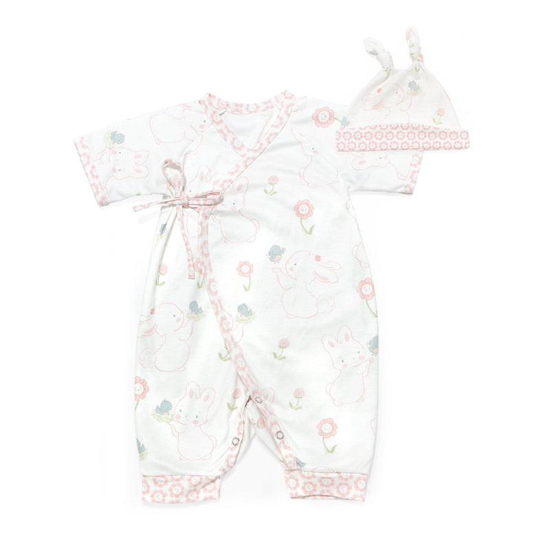 Blossom Kimono and Hat Set-Apparel-SKU: 104305 - Bunnies By The Bay