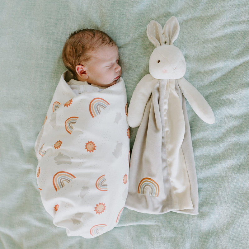 Little Sunshine Receiving Blanket-Little Sunshine-SKU: 104337 - Bunnies By The Bay