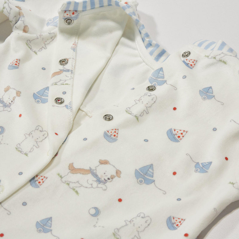 Skipit & Bud Playsuit and Binkie Set-Bud Bunny and Skipit Puppy-SKU: - Bunnies By The Bay