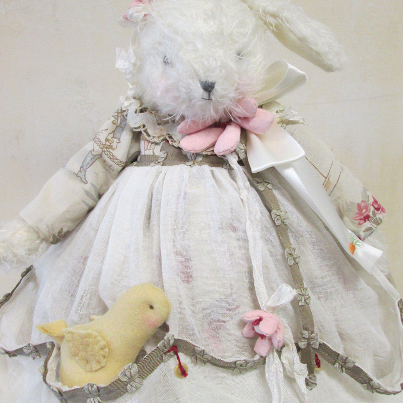 Hutch Studio - Comfort Chick-A-Dee - One Of A Kind Bunny-HutchStudio Original-Bunnies By The Bay