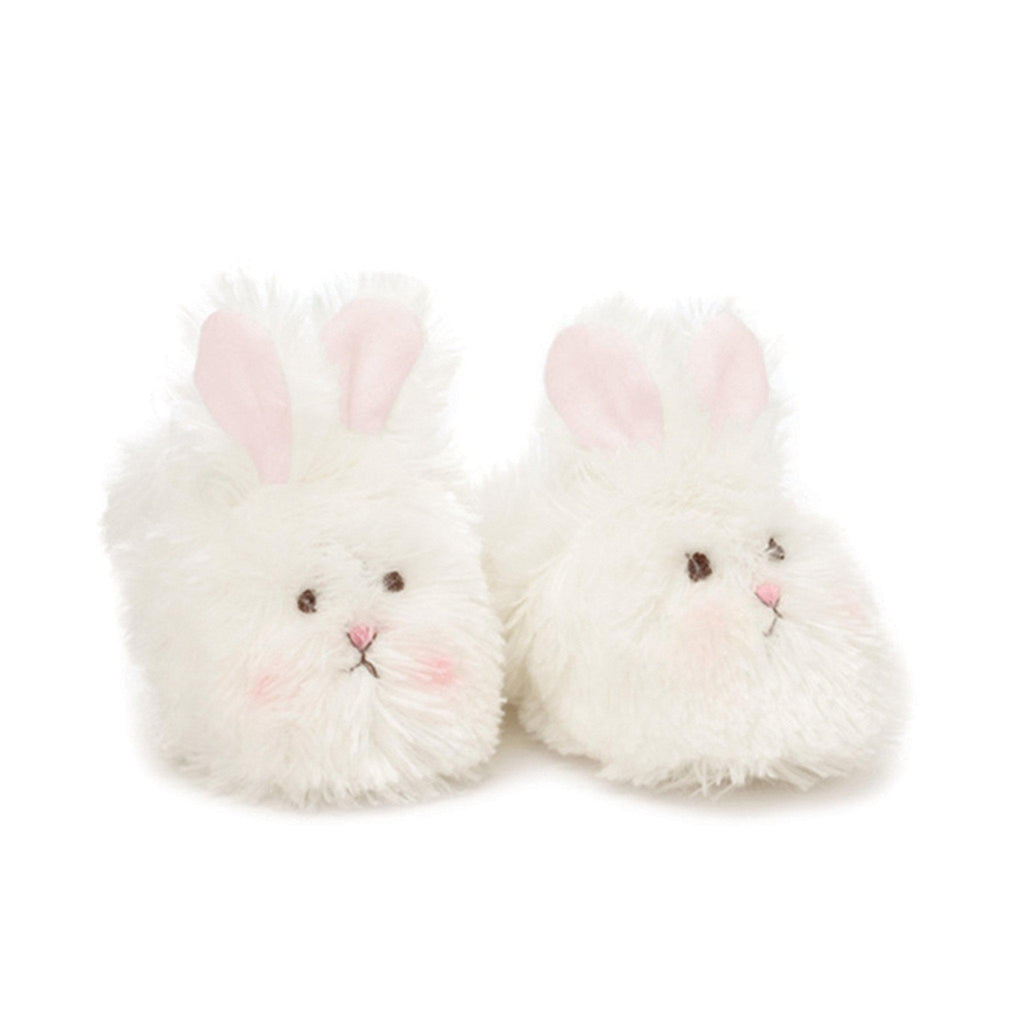 Image of Cuddle Toe Slippers-Apparel-Bunnies By the Bay-3-6 months-White-bbtbay