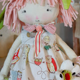 Hutch Studio - Bett Boots - Make and Mend One of a Kind Doll-HutchStudio Original-Bunnies By The Bay
