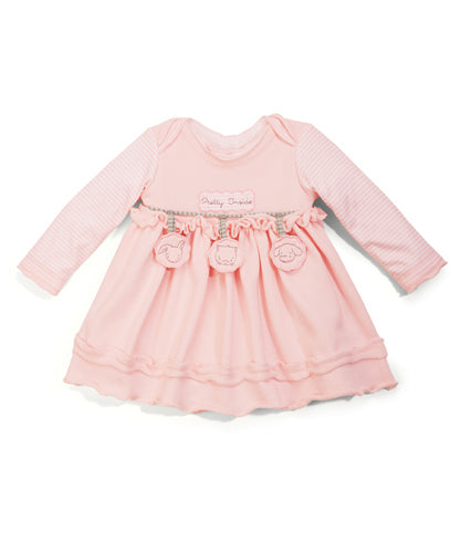 Pretty Inside Dress - 12 months-Apparel-SKU: 24231104 - Bunnies By The Bay