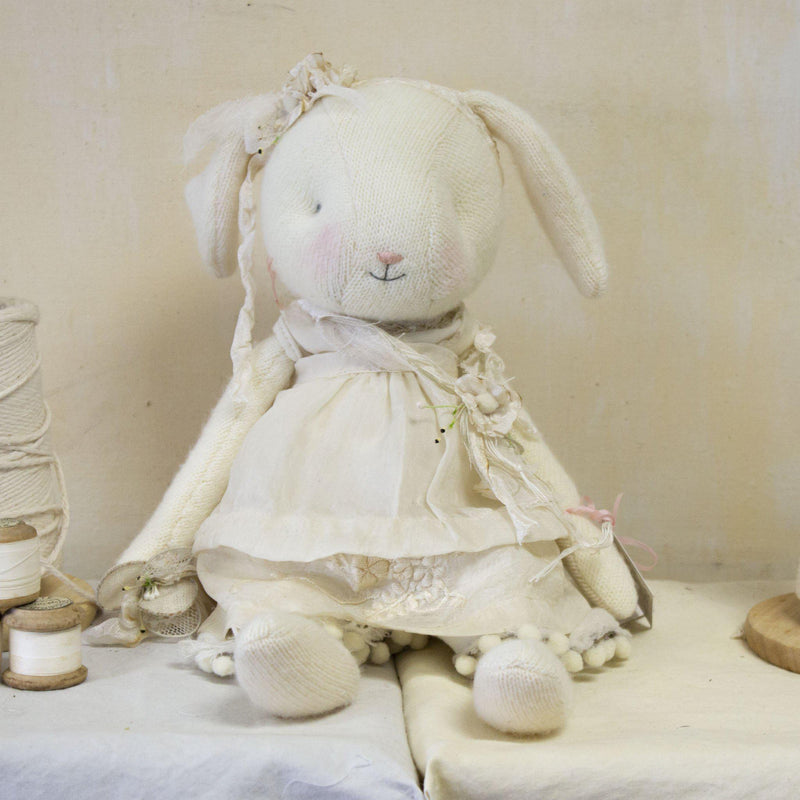 Hutch Studio - Little Posey - One Of A Kind Bunny-HutchStudio Original-Bunnies By The Bay