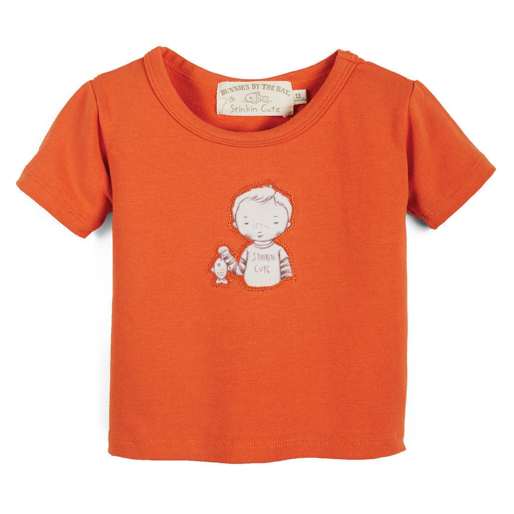 Image of Stinky Tee-Apparel-Bunnies By the Bay-12 months-Orange-bbtbay