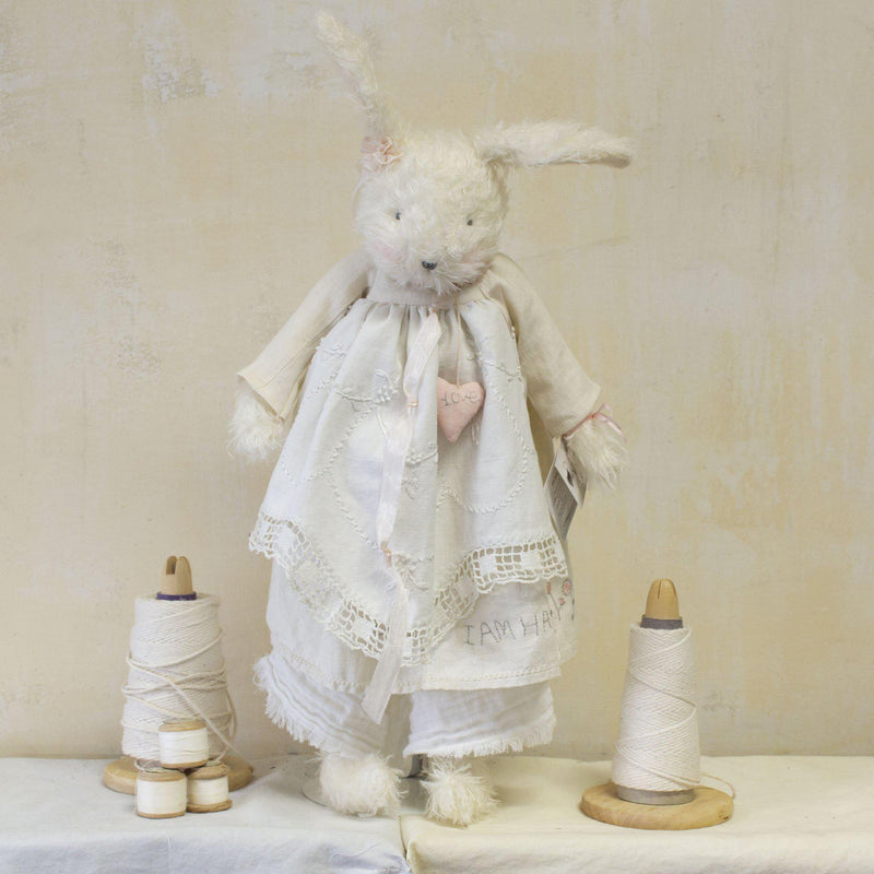 Hutch Studio - Proper Miss Prim - One Of A Kind Bunny-HutchStudio Original-Bunnies By The Bay