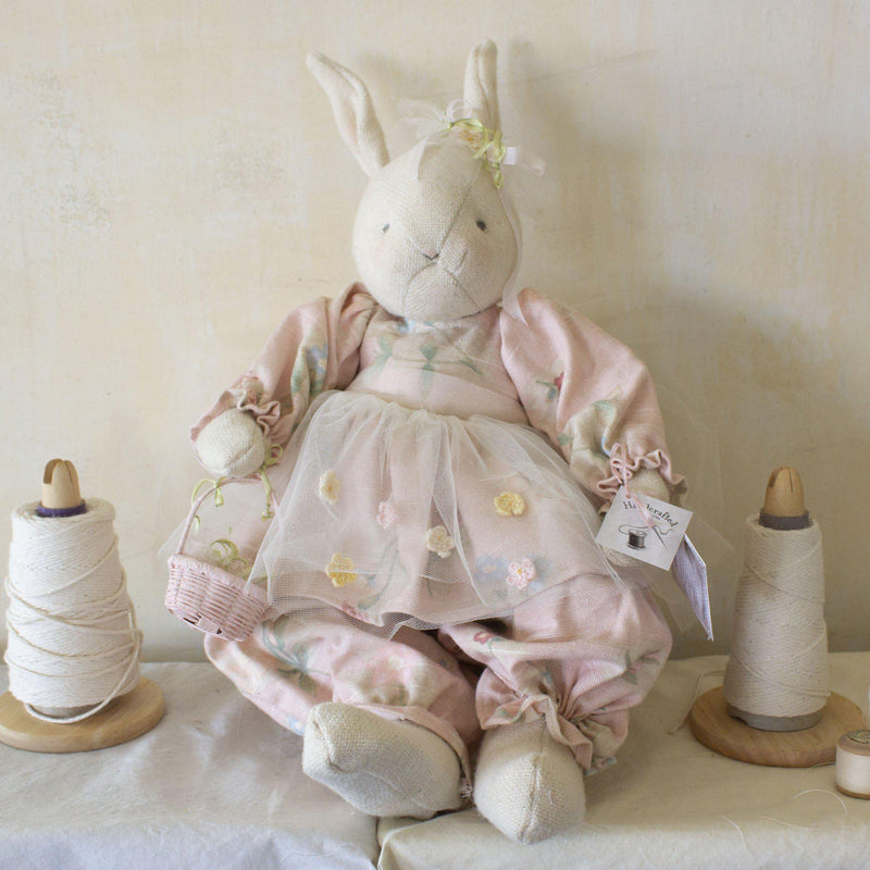 Hutch Studio - Bunny Bushel - One Of A Kind Bunny-HutchStudio Original-Bunnies By The Bay