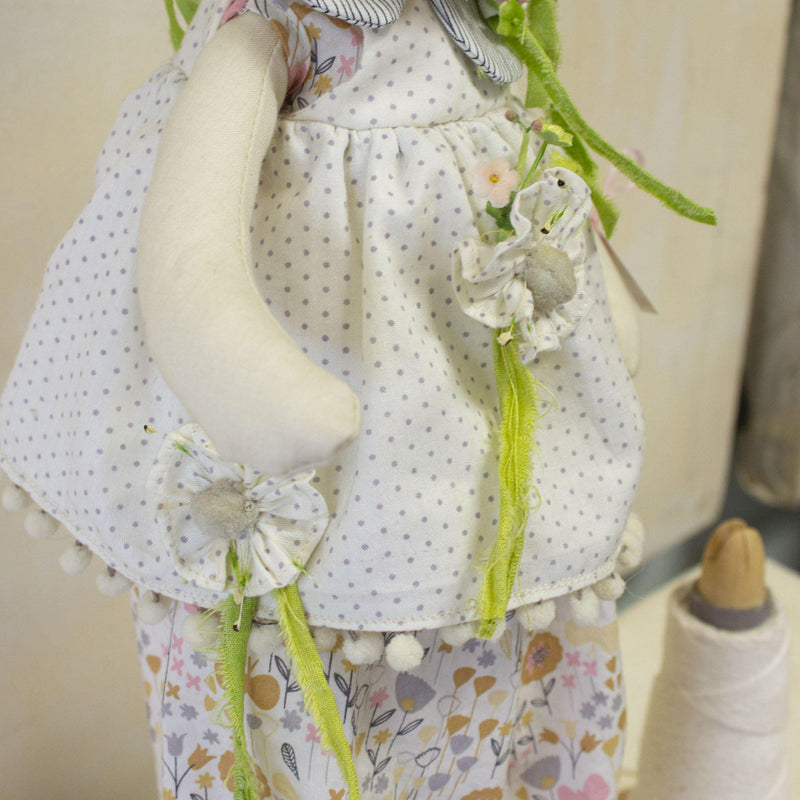 Hutch Studio - Tall Tillie - One Of A Kind Bunny-HutchStudio Original-Bunnies By The Bay