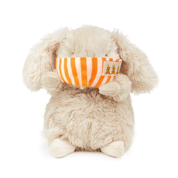 Wee Rutabaga Bunny with Face Mask-Stuffed Animal-SKU: 101139 - Bunnies By The Bay