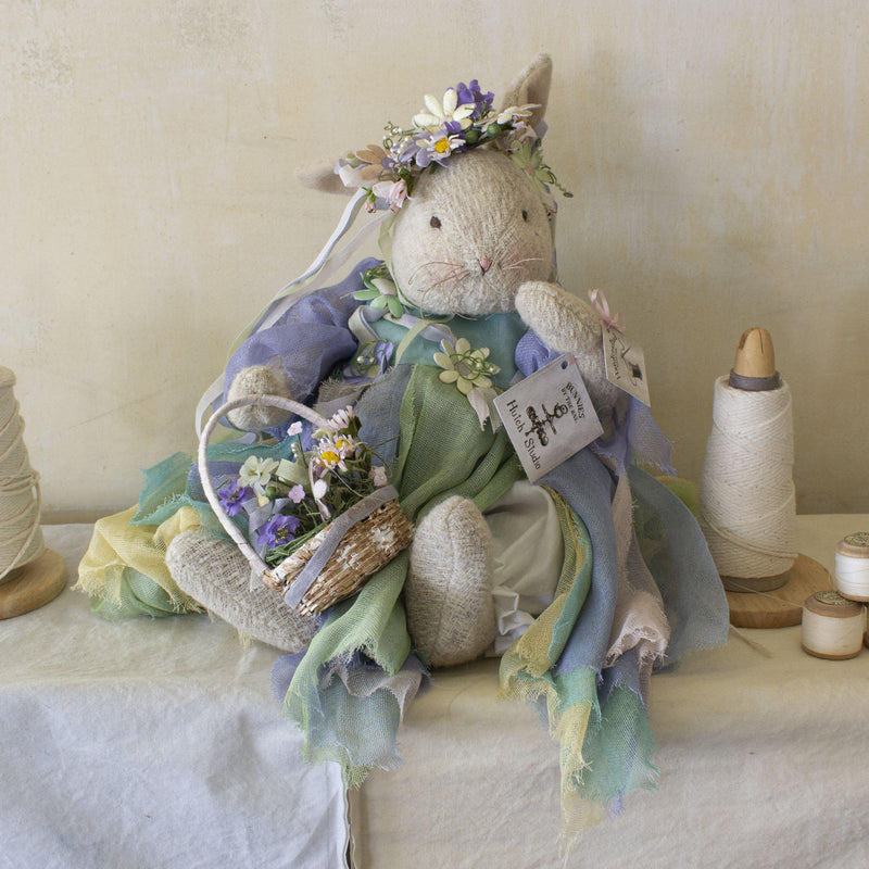Hutch Studio - Florie Bunda - One Of A Kind Bunny-HutchStudio Original-Bunnies By The Bay