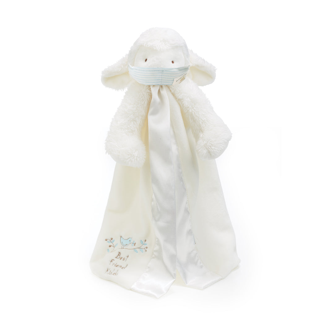 Kiddo the Lamb Buddy Blanket with Face Mask-Face Mask-SKU: 101146 - Bunnies By The Bay