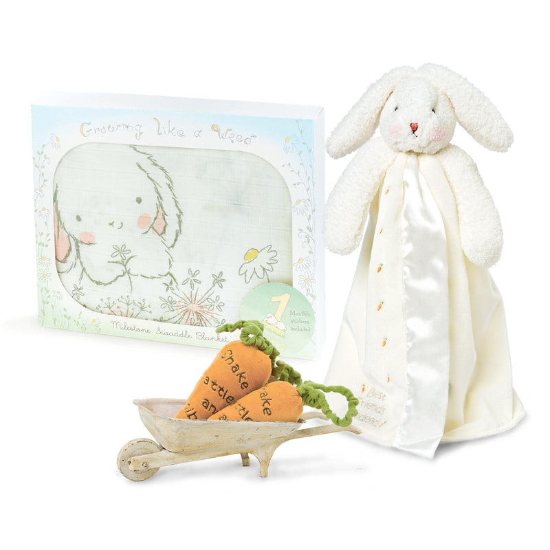 Bun Bun Milestone Blanket and Buddy Gift Set-Gift Set-Bunnies By The Bay