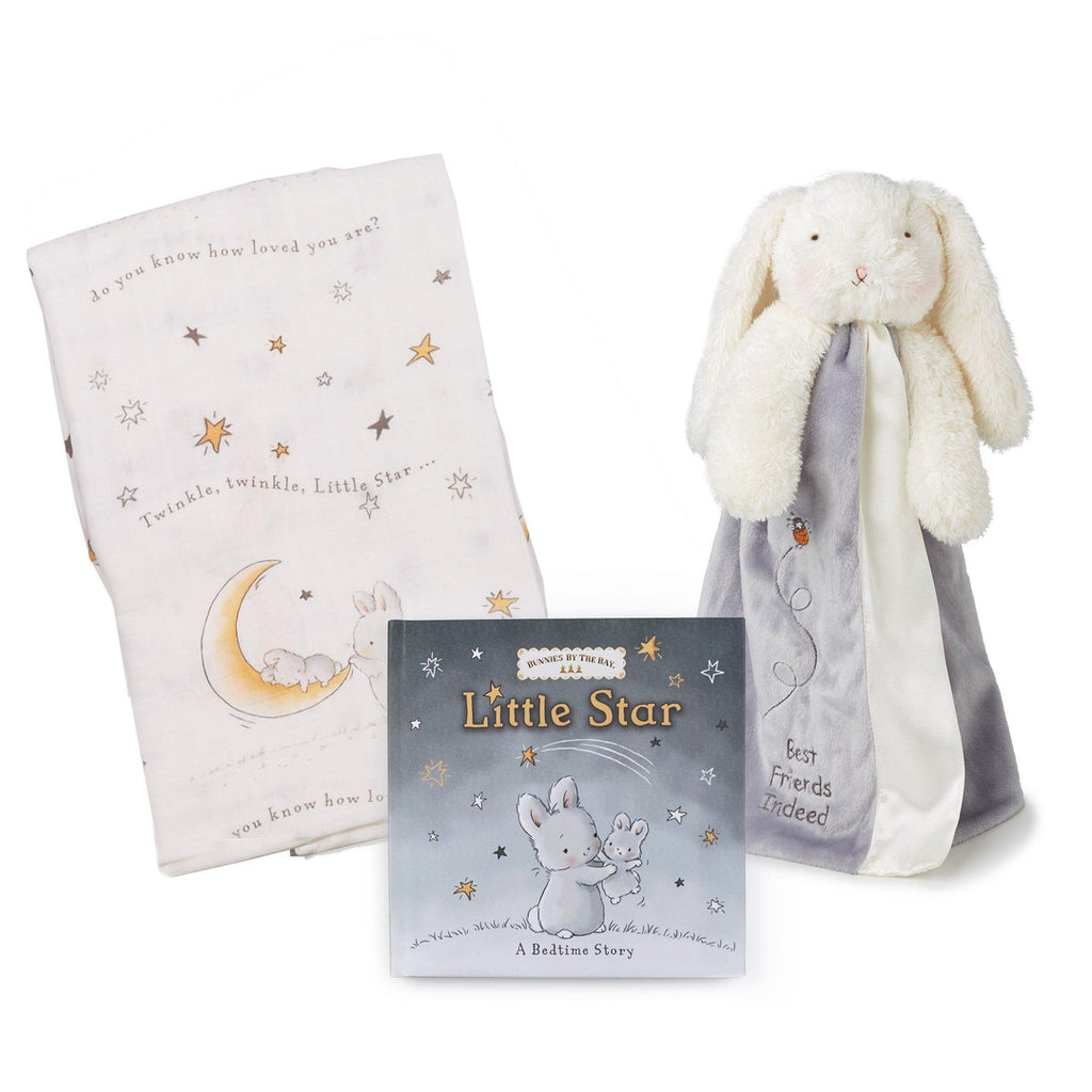 Bloom Blanket, Buddy and Book Gift Set