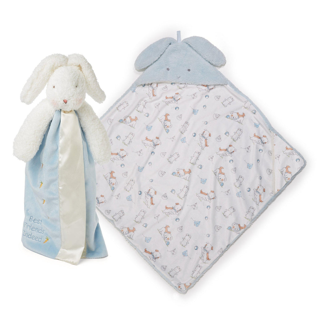 [product-color] Bud Hooded Blanket and Buddy Gift Set a Gift Set from Bunnies By The Bay: -843584017930-100823