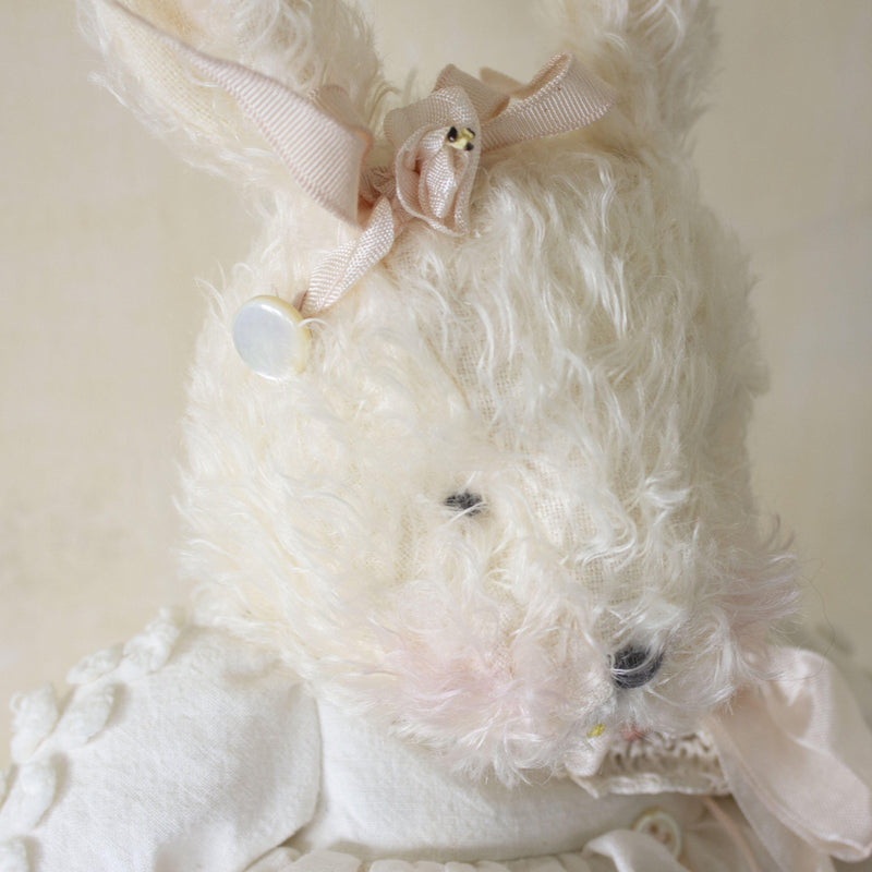 Hutch Studio - Mis Nel Chenille - One Of A Kind Bunny-HutchStudio Original-Bunnies By The Bay