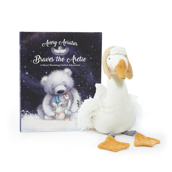Avery The Aviator's Arctic Adventures Gift Set-Gift Set-SKU: 106034 - Bunnies By The Bay