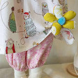 Hutch Studio -Bessie and Bundoll - Make and Mend One of a Kind Doll-HutchStudio Original-Bunnies By The Bay