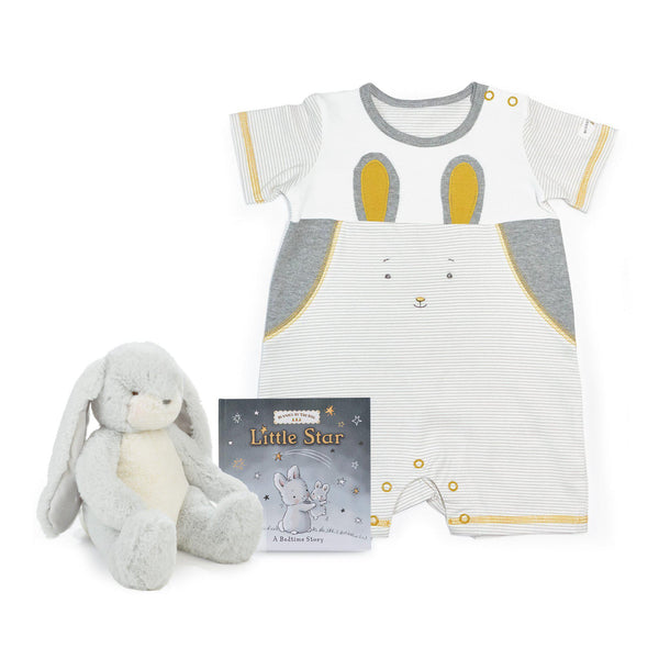 Bloom Bunny Romper Gift Set-Gift Set-SKU: - Bunnies By The Bay