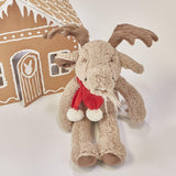 RETIRED - Limited Edition - Holiday Bruce the Moose-Holiday Plush-SKU: - Bunnies By The Bay