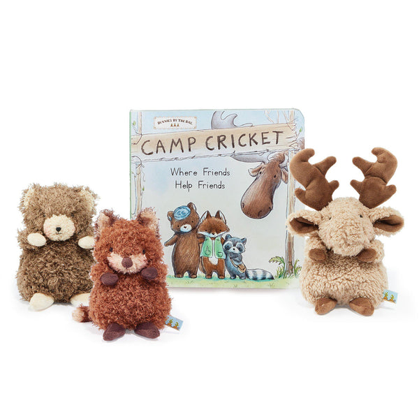 Camp Cricket StoryTime Wee Friends Gift Set-Gift Set-SKU: 106054 - Bunnies By The Bay