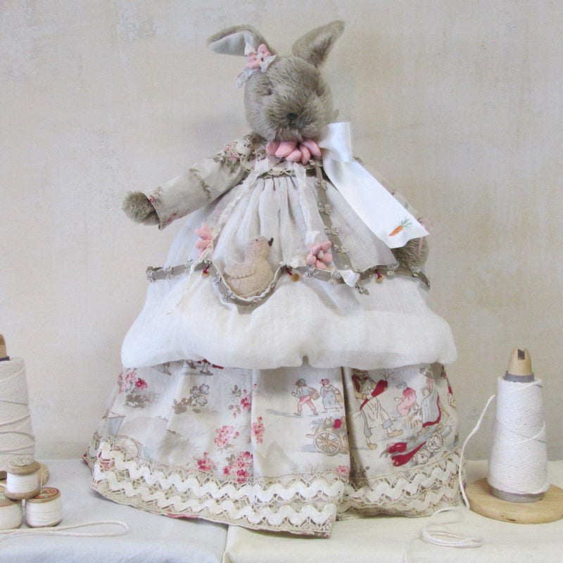 Hutch Studio - Cherish Chick-A-Dee - One Of A Kind Bunny-HutchStudio Original-Bunnies By The Bay