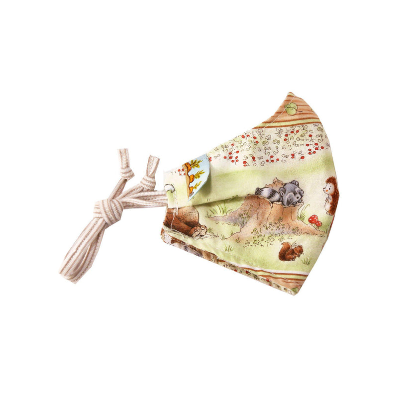 Child Cloth Face Mask - Camp Cricket Friends-Face Mask-SKU: - Bunnies By The Bay