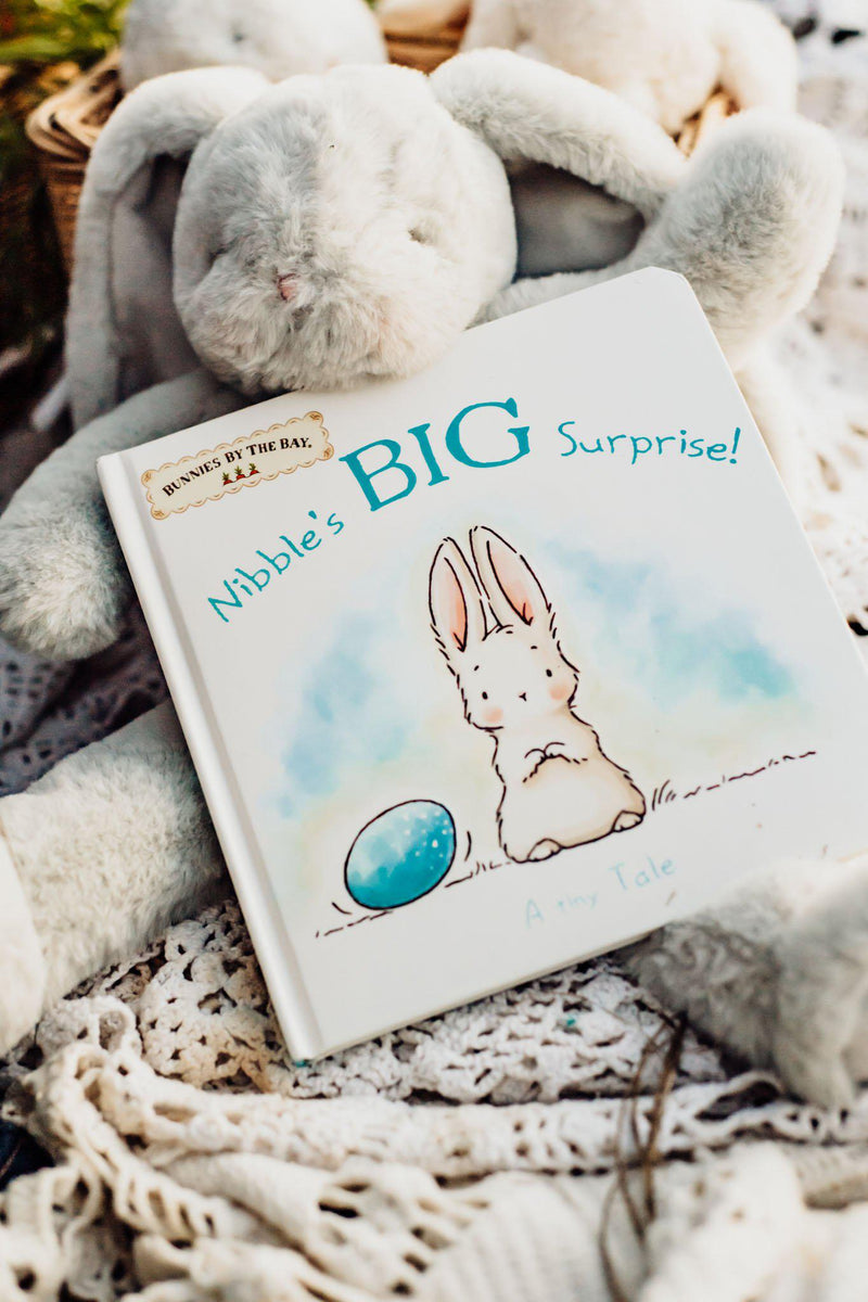 Nibble's Big Surprise Book-Book-SKU: 100423 - Bunnies By The Bay