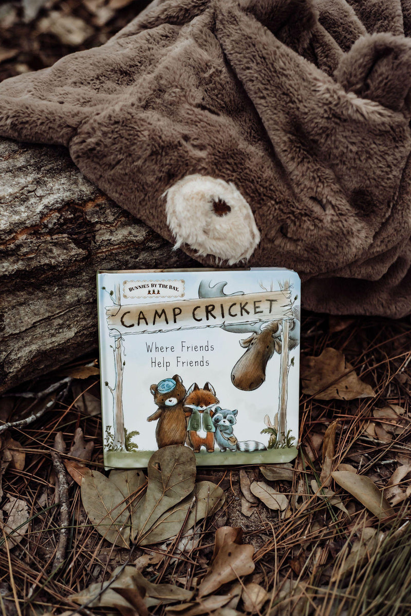 Camp Cricket Book-Book-SKU: 100312 - Bunnies By The Bay