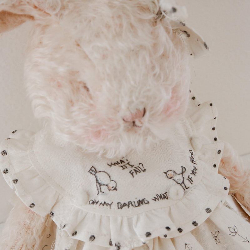 Hutch Studio Original - Lizett - One of A Kind Bunny-HutchStudio Original-SKU: HS21-48 - Bunnies By The Bay