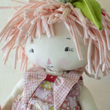 Hutch Studio - Shirley Shrooms - Make and Mend One of a Kind Doll-HutchStudio Original-Bunnies By The Bay