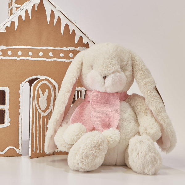 RETIRED - Limited Edition - Holiday Little Nibble Cream Bunny-SKU: - Bunnies By The Bay