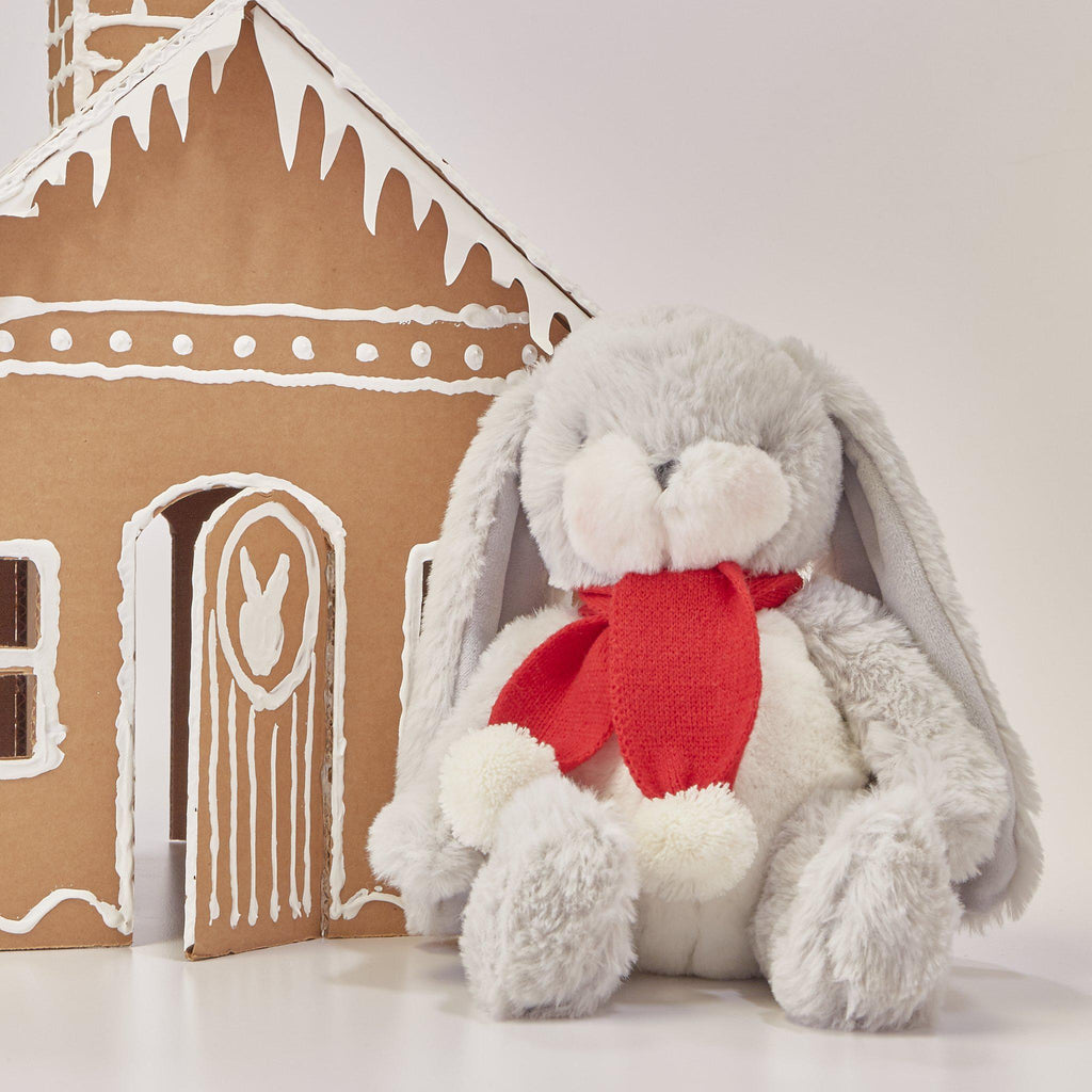 Limited Edition - Holiday Little Nibble Grey Bunny