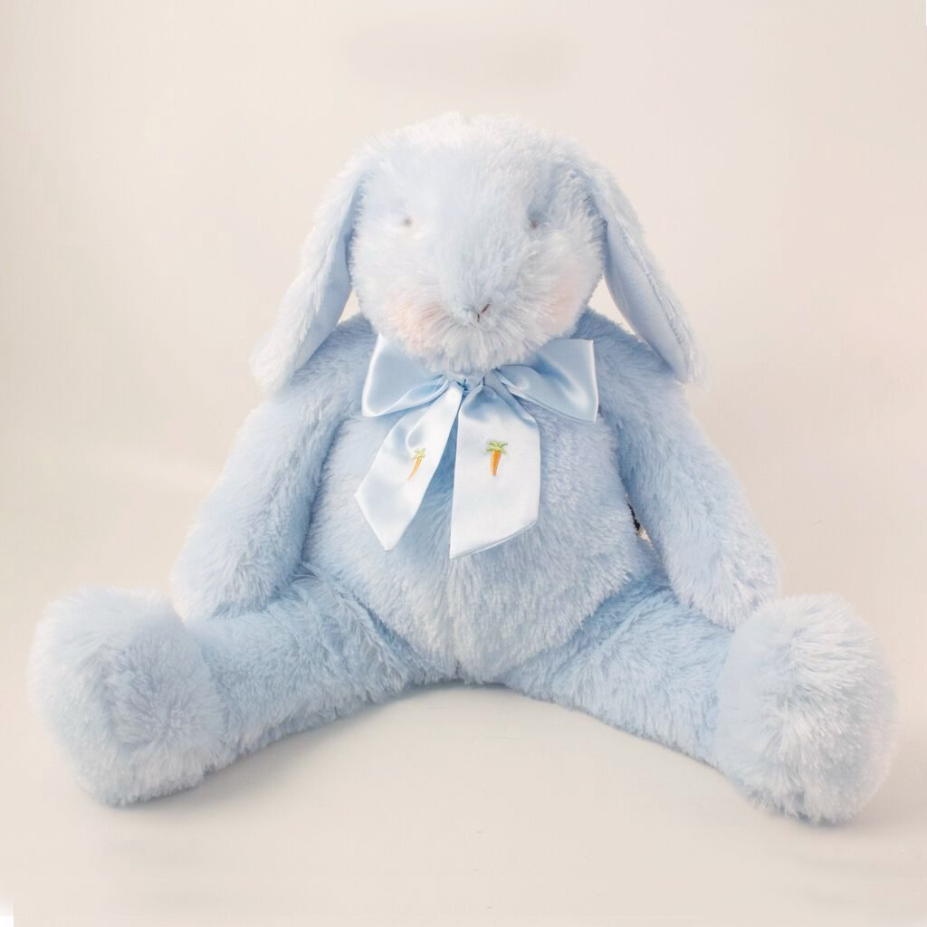 Image of Goodness Gracious Bunny Blue - Carrots® Collection-Stuffed Bunny-Bunnies By the Bay-bbtbay
