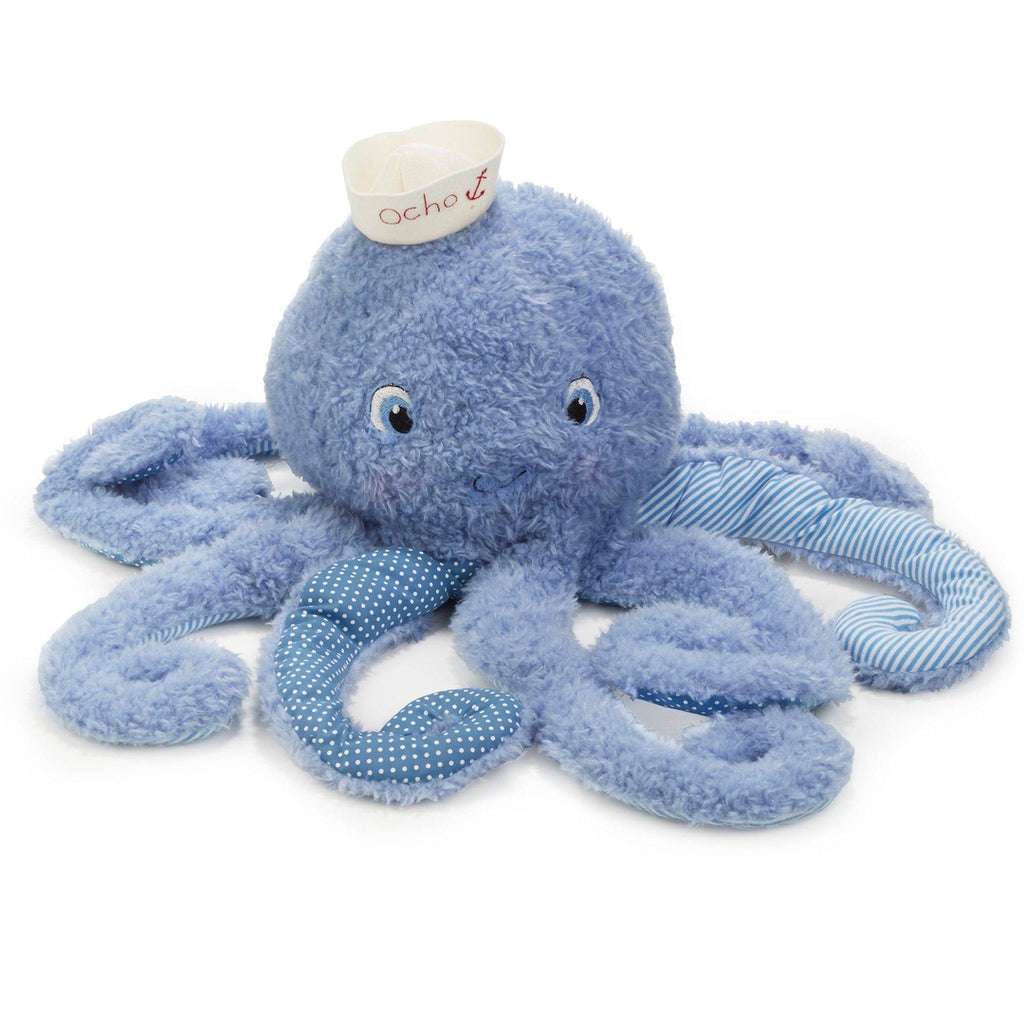 Mucho Ocho the Big Octopus Plush Toy-Good Friends By The Bay-Bunnies By The Bay-bbtbay