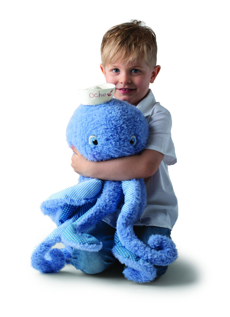 Mucho Ocho the Big Octopus Plush Toy -Good Friends By The Bay-Bunnies By The Bay-bbtbay