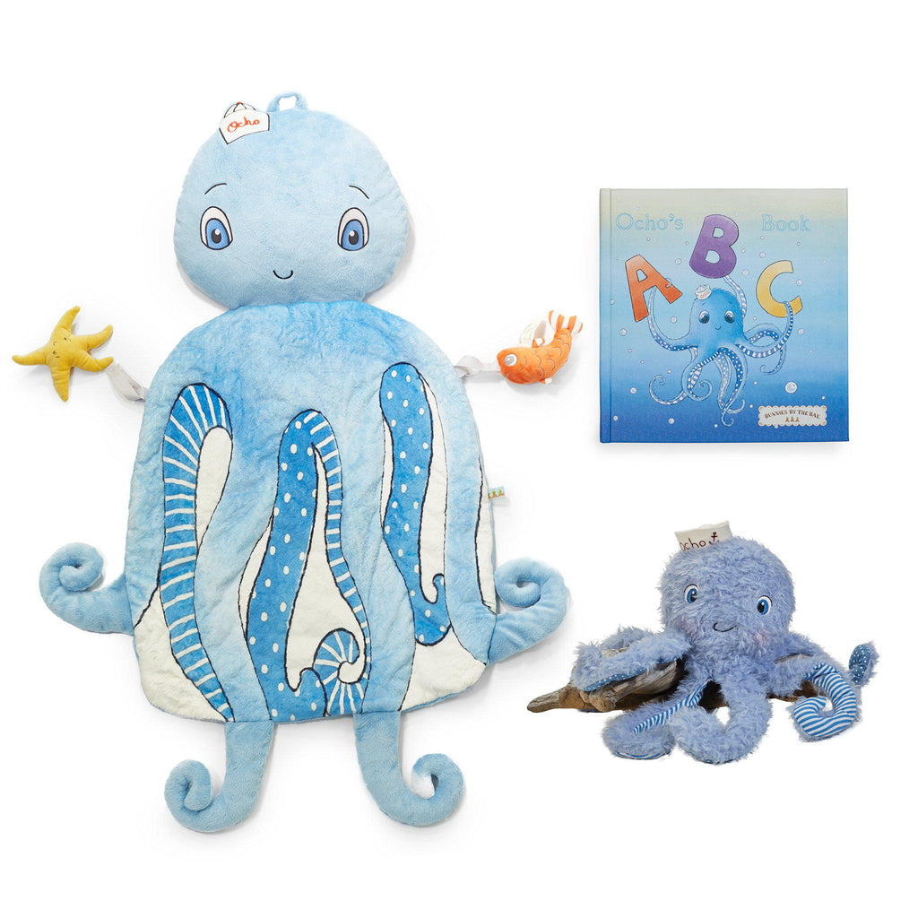 Ocho the Octopus Ultimate Baby Gift Set-Gift Set-SKU: 101114 - Bunnies By The Bay