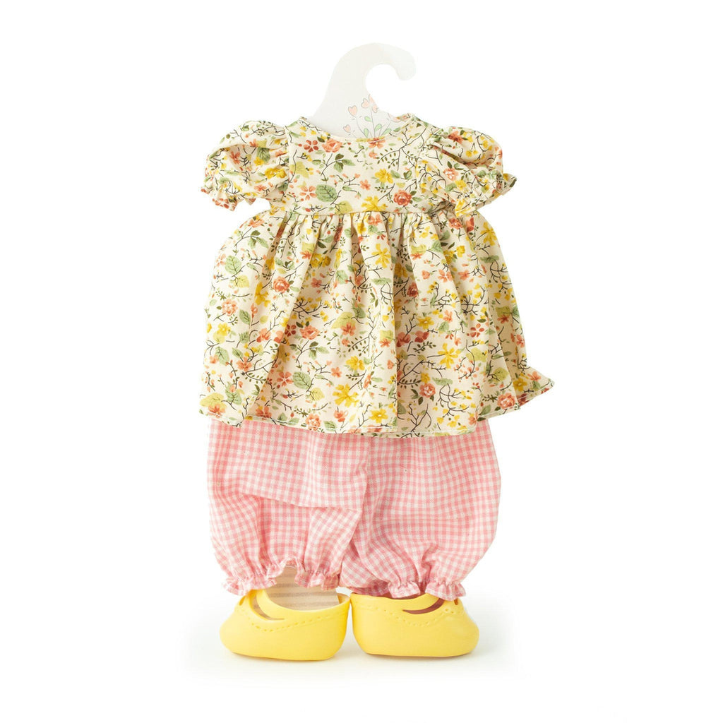 [product-color] Old Rose Romper Set - Doll Clothes a from Bunnies By The Bay: -843584017664-100914